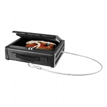 Small Compact Safe with cable - Solid steel construction -
