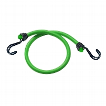 "Set of 2 bungees ""73600IN WIRE"" 80cm - colour : green"