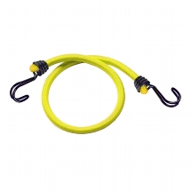 "Set of 2 bungees ""73600IN WIRE"" 100cm - colour : yellow"
