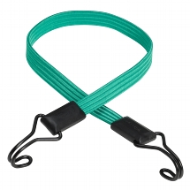 "Flat bungee ""SMOOTH"" 80cm - colour : green"