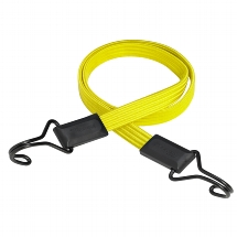 "Flat bungee ""SMOOTH"" 100cm - colour : yellow"
