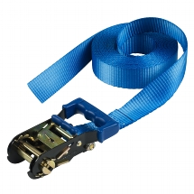 Ratchet tie down endless 6 m - colour : blue I lashing