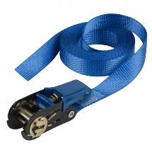 Single pack ratchet tie down 5 m endless - colour : blue I
