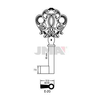 Möbel-Schlüsselrohling