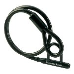 Braided steel cable 1,50m x Ø 20mm with mini U bar w/4 keys