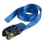 Single pack ratchet tie down 5 m endless - colour : blue I