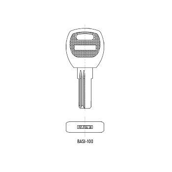Key Blank for BASI item