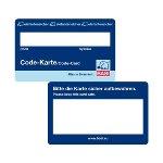 Code-Karte - neutral