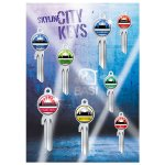 A2 Poster Skyline City Keys